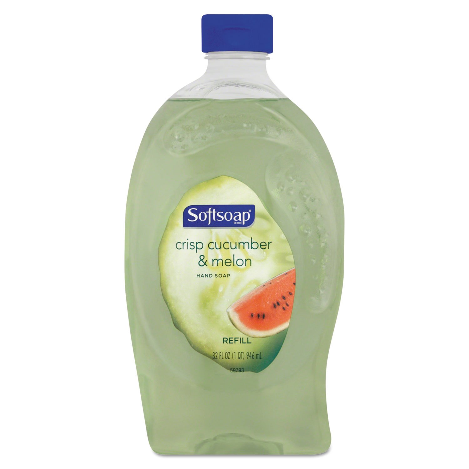 Softsoap Crisp Cucumber & Melon Liquid Hand Soap Refill 32 Ounce
