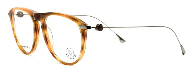 12a7b2026d3 Image Unavailable. Image not available for. Color  Eyeglasses Moncler MC013  V06 shiny brown ...