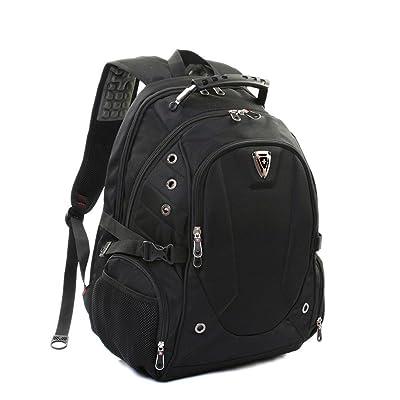 Ordinateur portable Sac à dos (14/15 pouces) Nylon Affaires Épaules Daypack
