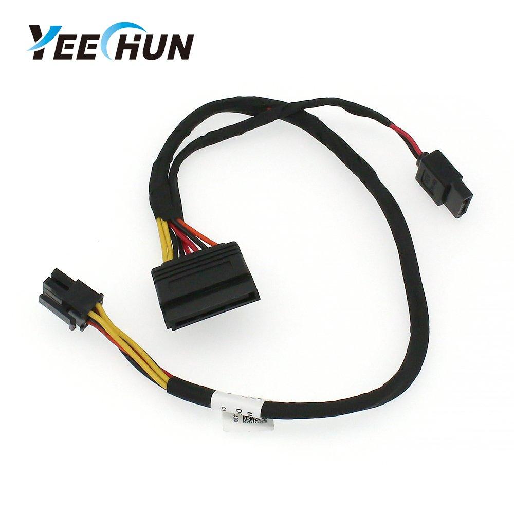 YEECHUN New Hard Drive Optical Drive SATA Power Cable for Dell Inspiron 3653 3650 3655 KC81G 0KC81G Series