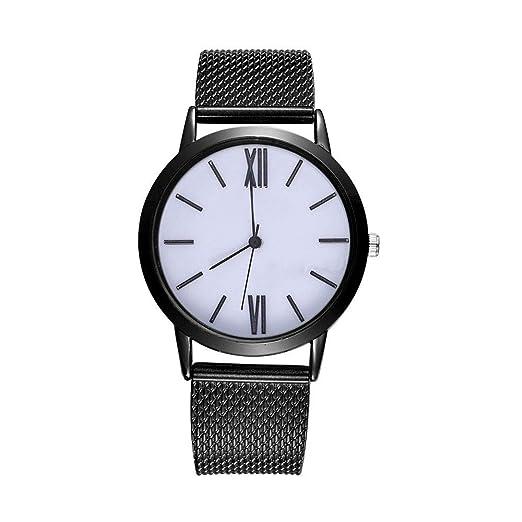 alikeey Reloj Unisex Digital de Cuarzo Reloj de Pulsera Cuarzo Analógico de Pulsera de Banda de Silicona con Correa de Silicona para Mujer Taglia Unica D: ...