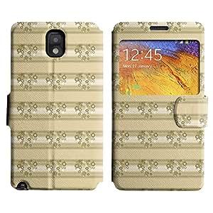 LEOCASE Funda Carcasa Cuero Tapa Case Para Samsung Galaxy Note 3 N9000 No.1007526