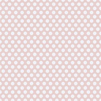 8x8FT Vinyl Wall Photography Backdrop,Vintage,Polka Dots with Circles Background for Baby Shower Bridal Wedding Studio Photography Pictures