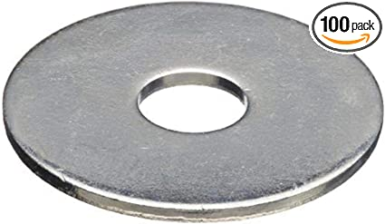 "ALL18202 Aluminum Backup Washers 0.500/"" Outside Diameter Set of 500 ALL18202"