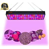 UEIUA GL-100 600-Watt Full Spectrum LED Grow Light for Indoor Plants, Veg and Flower