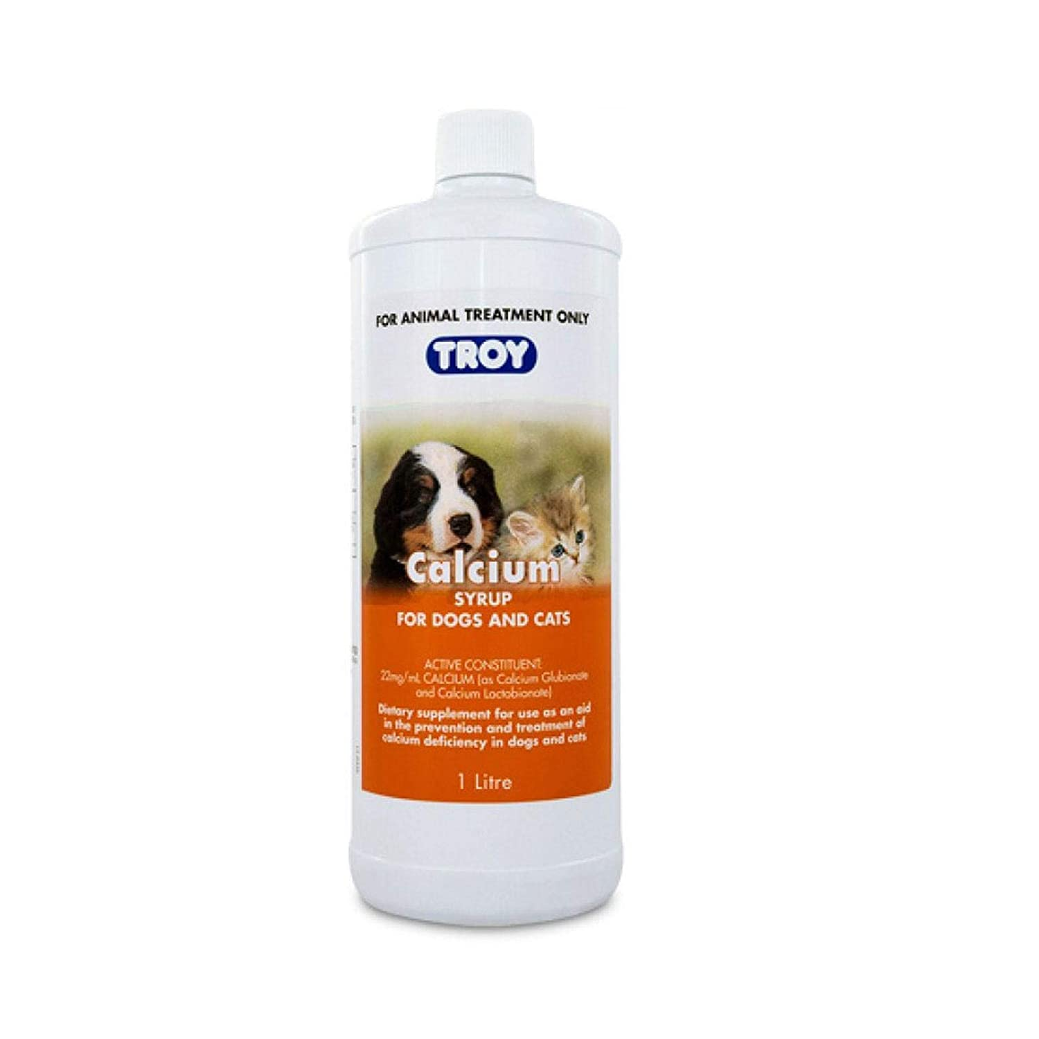 TROY Calcium Syrup 1L (T3870)