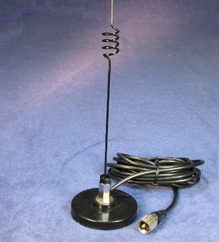 - Magnetic Mobile Antenna Ham Radio 2 Meter / 70 cm 140 to 150 and 440 to 470 MHz