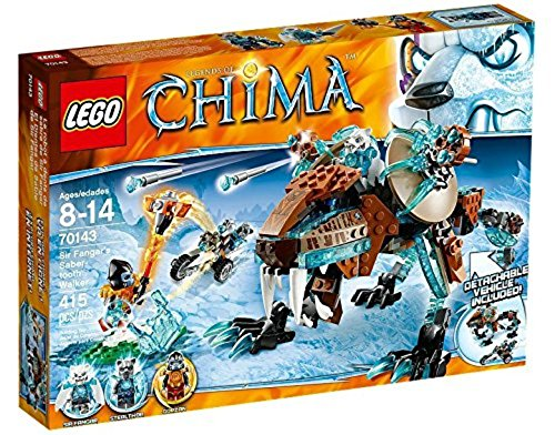LEGO Legends of Chima 70143: Sir Fangars Saber-Tooth Walker