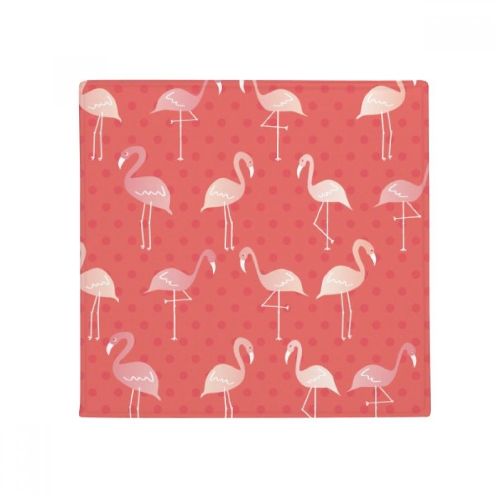 DIYthinker Flamingo Pattern Pink color Anti-Slip Floor Pet Mat Square Home Kitchen Door 80Cm Gift