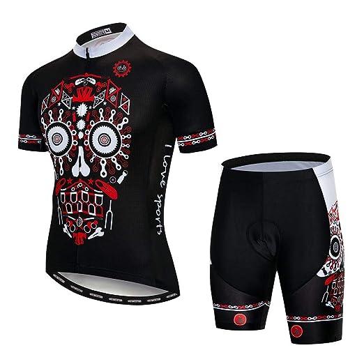 weyb Conjuntos De Camisetas De Ciclismo Pantalones Cortos con ...