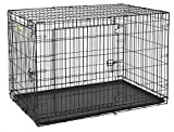 Cheap Midwest Products Co. 48″ Contour DBL Door Dog Crate