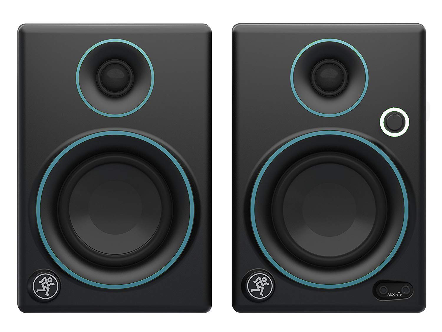 Mackie CR Series CR3-3 Creative Reference Multimedia Monitors (Pair) - Blue