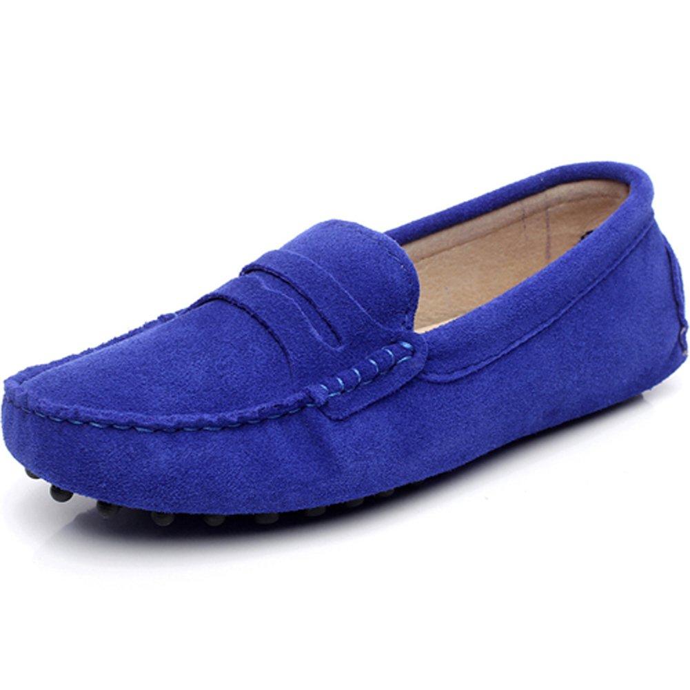rismart rismart Femmes Mode Glisser Sur Mocassins Décontractée Suède Mocassins Cuir Suède Flâneurs Chaussures Blu (Blu Royal) c6e06b0 - fast-weightloss-diet.space