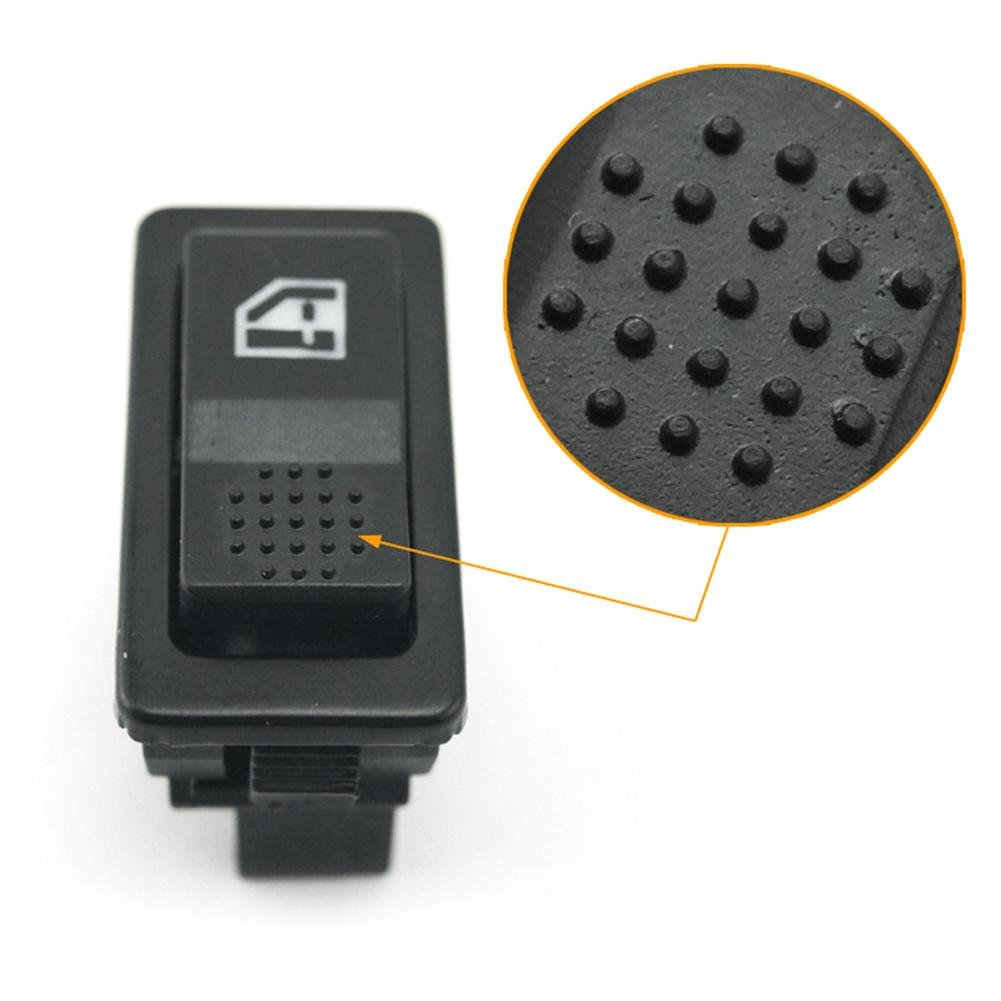LED-Schalter Kippschalter Futurepast Elektrischer Fenster Schalter 12V 24V Auto KFZ Schalter 5 Polig Fensterheberschalter