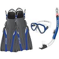Body Glove Azores Máscara Snorkel y Fin Set con GoPro Monte