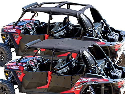 Nelson-Rigg RG-100-RZR4 Black Medium Convertible Soft Top (Best Way To Clean Soft Top Roof)