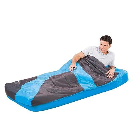 Bestway - Cama hinchable con saco de dormir, color azul: Amazon.es ...