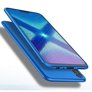 X-level Funda para Honor 8X, Carcasa para Honor 8X Suave TPU Gel Silicona Ultra Fina Anti-Arañazos y Protección a Bordes Funda Phone Case para Honor ...