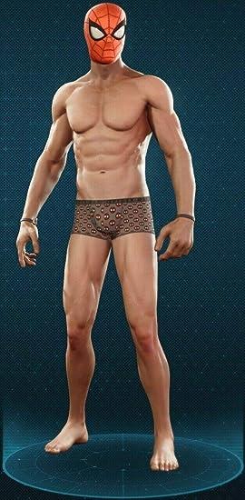 aucune Figure Su-UW-SPD échelle 1//12 PS4 Spider-Homme sous-vêtements pour Marvel Legends corps