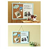 15 x 12 Combination Dry Erase Boards,Magnetic White