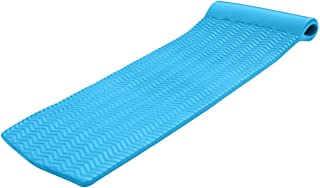 product image for TRC Recreation Serenity 70 in. Foam Mat Lounger Pool Float, Marina Blue (2 Pack)