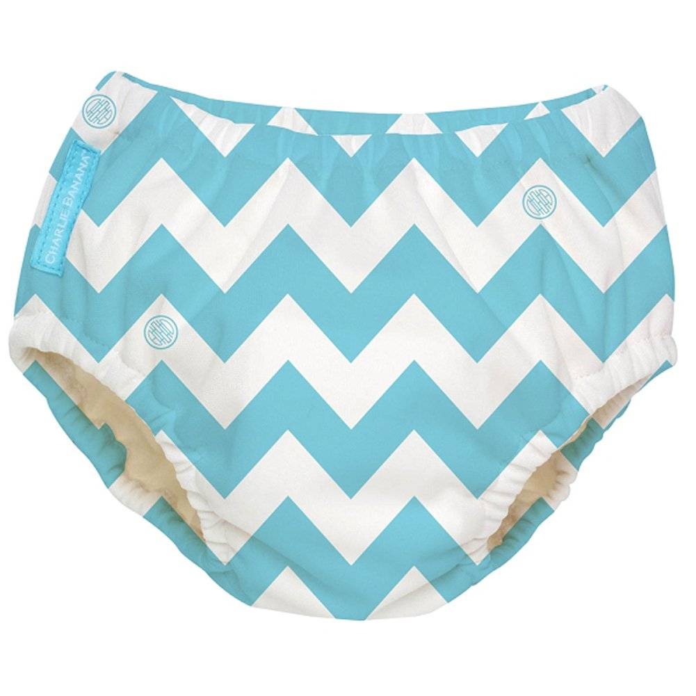 Baby Pink Charlie Banana Extraordinary Swim Diaper Large
