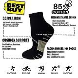 Copper Compression Running Socks For Men
