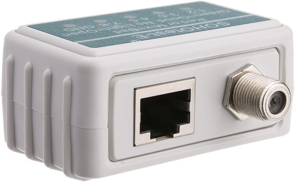Tests Cat5e Konnekta Cable SOHOtest-E Network//Phone//TV Cable Tester Cat6 Cat6a Coaxial and Telephone Runs for Continuity and Wiring Map