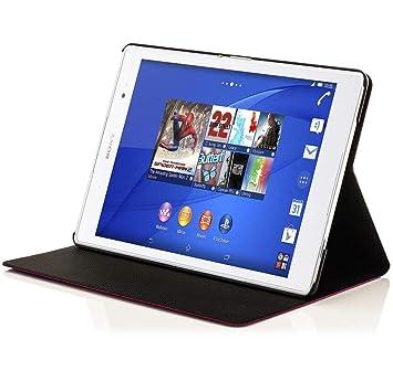 Forefront Cases® Sony Xperia Z3 8.0 Tablet Compact Funda Carcasa Stand Smart Case Cover – Ultra Delgado y Protección Completa del Dispositivo con ...