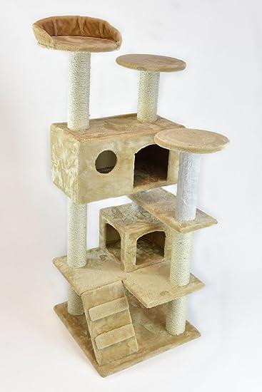 Amazon.com: Rascador para muebles de árbol de gato de 52.0 ...