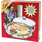 Best Griddles With Glass Lids - Chef's Secret 5-Ply Stainless-Steel Griddle with Glass Lid Review