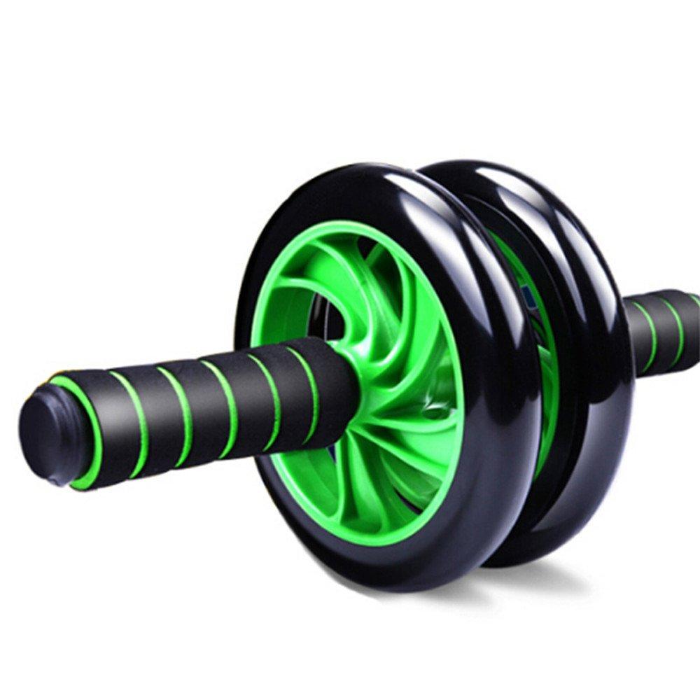 Aszhdfihas Abdominal Rad Abdominal Wheel Riesige Fitness Roller Mute AB Gewichtsverlust Fitnessgeräte Für Hom (Farbe   Grün)