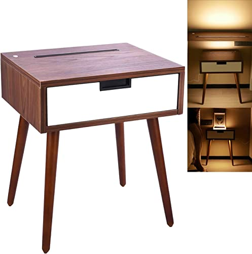 Frylr Nightstand End Table