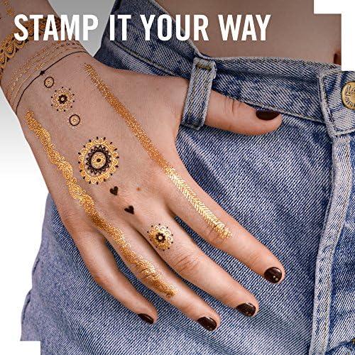 Rimmel London Ink Me Stamp Tattoo en Sello Forma Corazón - 7 gr ...