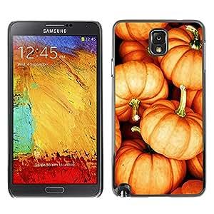 Caucho caso de Shell duro de la cubierta de accesorios de protección BY RAYDREAMMM - Samsung Galaxy Note 3 N9000 N9002 N9005 - Orange Fall Autumn