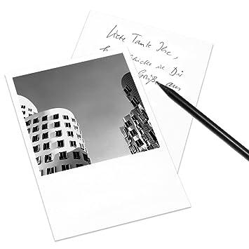 Cognosco Postkarte Düsseldorf Im Polaroid Look Motiv Neuer