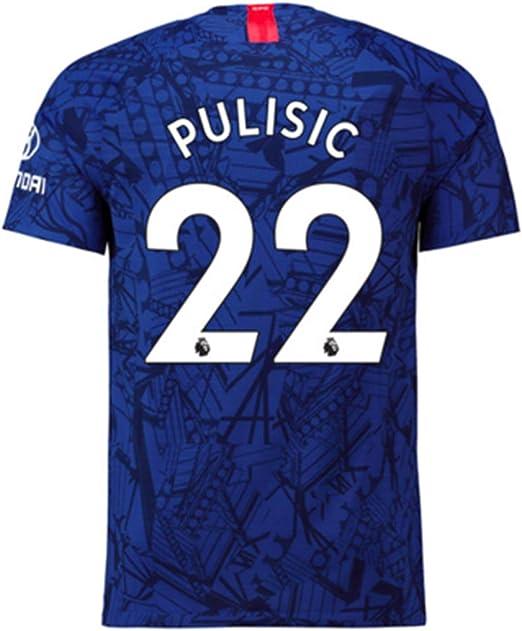 Amazon.com: FOOTRUM Chelsea Pulisic # 22 2019-2020 ...