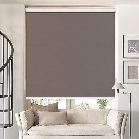 100/% Blackout Window Thermal Roller Shade Blind Waterproof