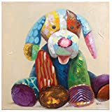 Yosemite Home Decor ARTAB2980 Patches I Acrylic Painting, 32-Inch