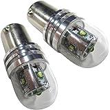 メーター球 インジケーター エアコンパネル LED T4.2 ホワイト 2個セット SDM便 K&M 「T42-WHITE-FLUXx2」