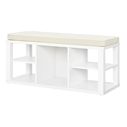 Charmant Ameriwood Home Parsons Storage Bench, White