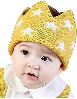 Westow Baby Boy Girl Crown Hat Birthday Soft Knit Spring Lightweight Beanie  Cap bef80b1e1226