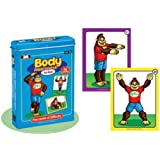 Yogarilla Body Awareness Card Deck - Super Duper Educational Learning Toy for Kids