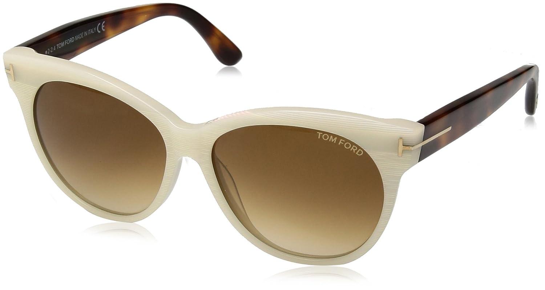 Amazon.com: Tom Ford Mujer tf0330 Saskia anteojos de sol ...