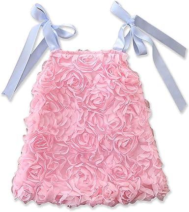 Molibays Baby Girls Flower Print Swimwear Toddler Kids Sleeveless One Piece Beachwear