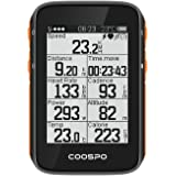 CooSpo Cycling GPS Computer Bike Speedometer Wireless Bike Computer Bicycle Odometer ANT+ Bluetooth5.0 Compatibility IP67 Wat