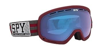 Spy Marshall - Gafas de esquí, color rojo, talla única