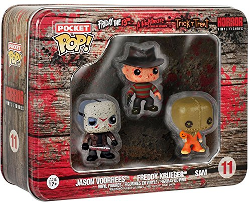 Funko Pocket POP: Horror - Freddy, Jason, Sam Toy Figure