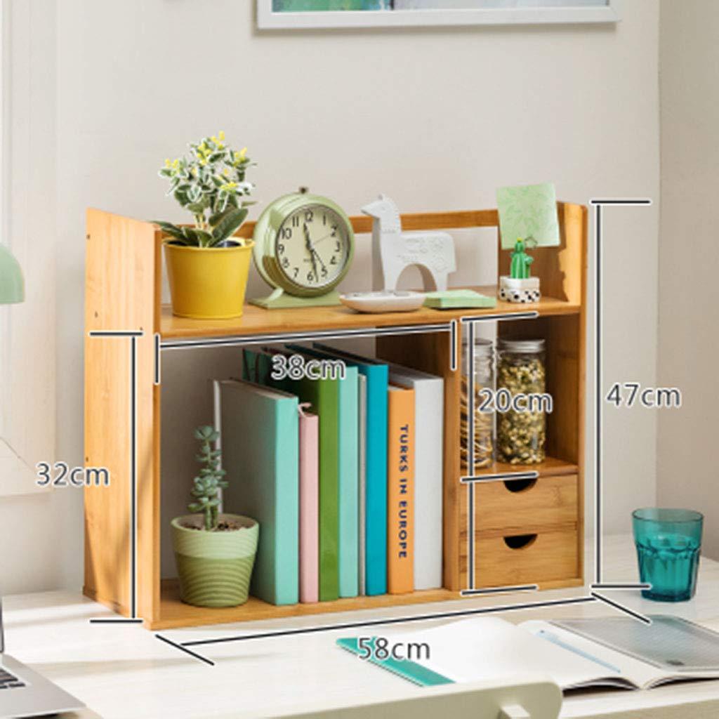 Amazon.com: Bookcases Bookshelf Desktop Storage Rack Display Rack Storage Rack Display Rack Shelf Flower Rack Storage Rack (Color : Beige, Size : 581947cm): ...
