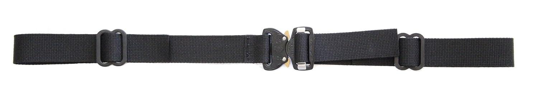 Hank's Surplus交換用バックパック 胸胸部ストラップ COBRA FMバックル付き  ブラック B01BERAY4E